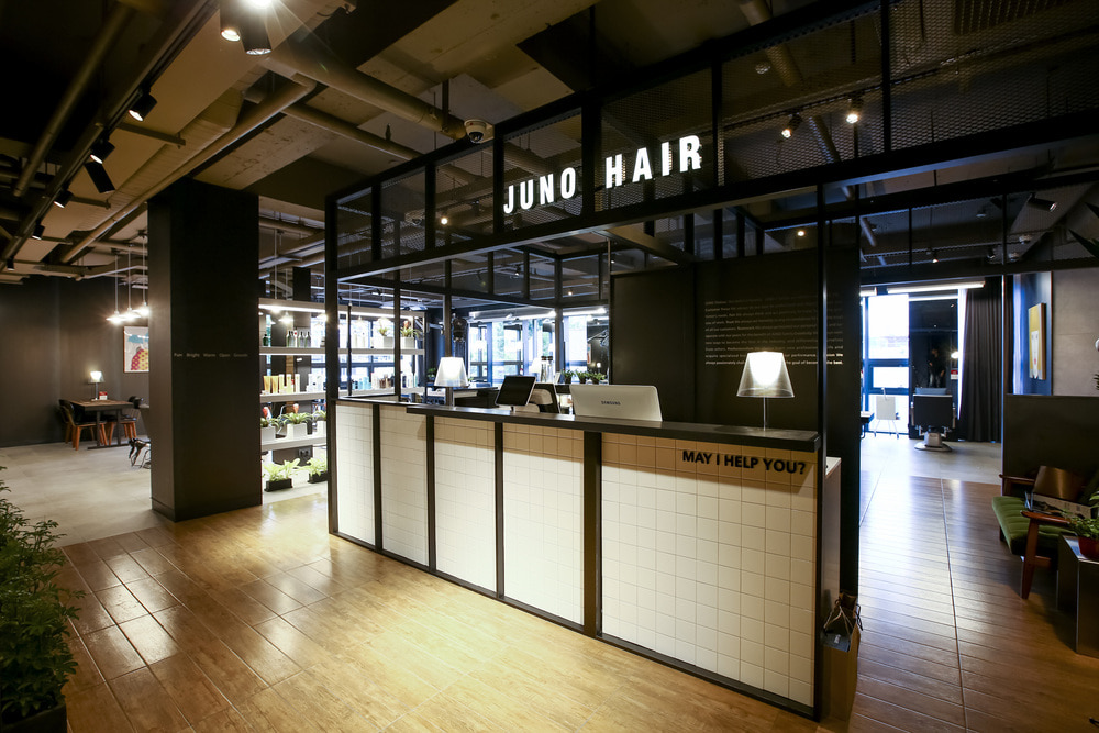 JUNO HAIR Myeongil-station2017.07Minsoo KoBeauty salon